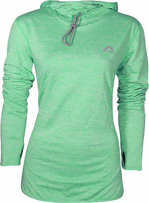 More Mile Rad Warm Womens Running Hoody - Green