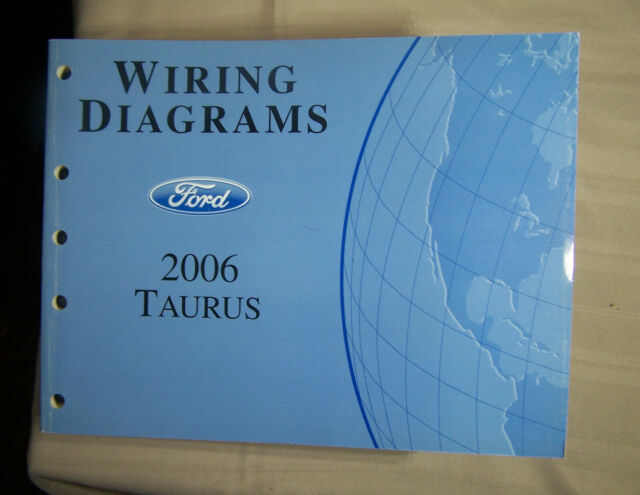 2006 Ford Taurus Wiring Diagrams Oem Factory Manual