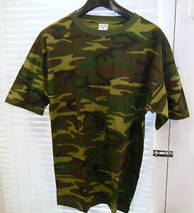 MILITARY-ARMY-T-SHIRT-BRITISH-WOODLAND-CAMOUFLAGE-DPM