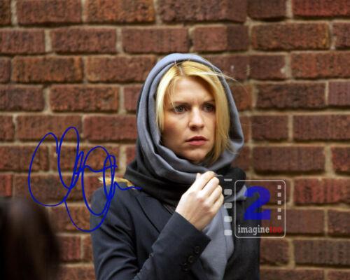 """Claire Danes 10""""x 8"""" Signed Color PHOTO REPRINT"""