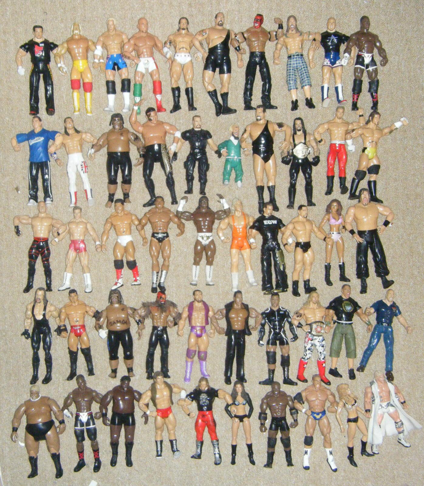WWE wrestling personaggio d'azione: serie Classic Series Deluxe TNA Impact mattel WWF