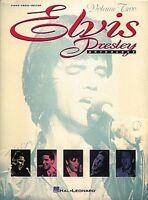 Elvis Presley Anthology Volume 2 Sheet Music Piano Vocal Guitar Songbo 000308199