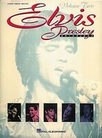 Elvis Presley Anthology Volume 2 Sheet Music Piano Vocal Guitar Songbo 000308199