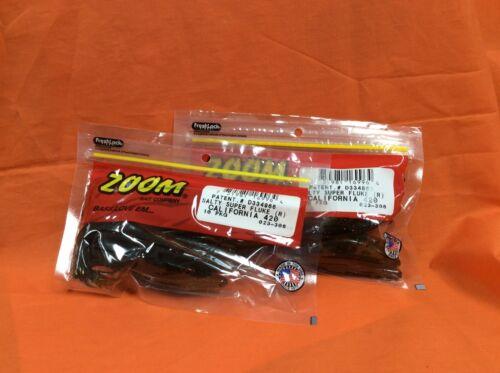 ZOOM Salty Super Fluke 2 PCKS 10cnt #023-308 California 420