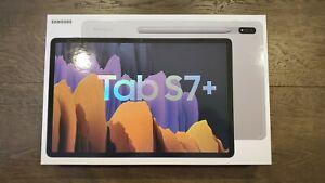 *NEW* Samsung Galaxy Tab S7+ Plus, 128GB, Wi-Fi, 12.4 in - Mystic Silver