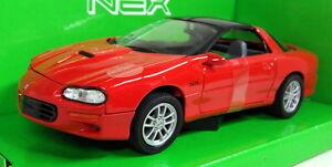 Nex-models-1-24-Scale-22424W-2002-Chevrolet-Camaro-SS-Red-Diecast-model-car