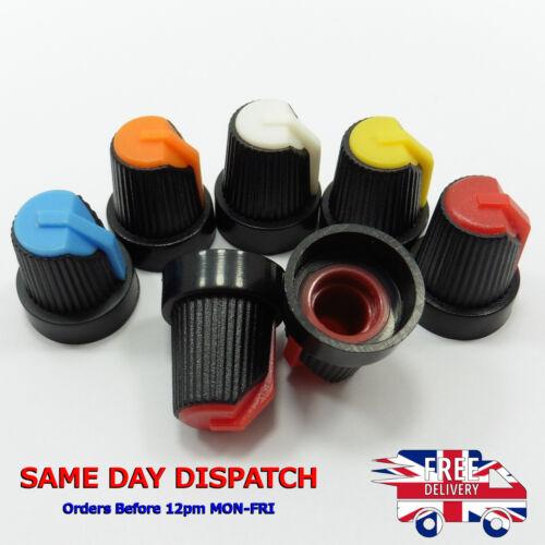 15x17mm Mezclador de Color Asorted plástico Potenciómetro Perilla de control de volumen de altavoz
