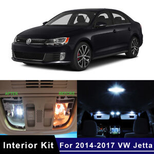 2017 Vw Jetta >> Details About 13x Led Interior Lights Package Kit For 2014 2017 Vw Volkswagen Jetta 6 Mk6 Vi