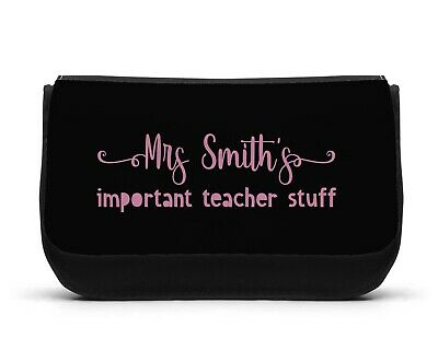 VIP VERY IMPORTANT PRINCESS PERSONALISED PENCIL MAKE UP BAG GIFT DS CASE