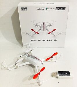 YUNEEC-Smart-Flying-18-Drone-Android-Bluetooth-Controlled-USA-Seller-New-In-Box