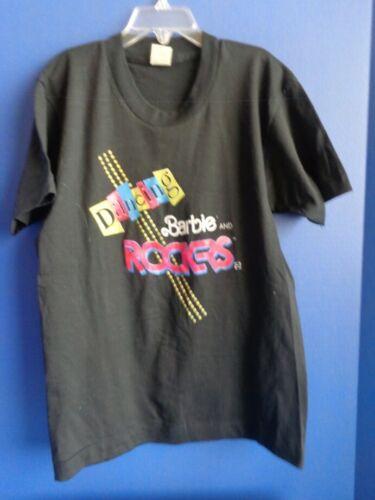 1980s CHILD DANCING BARBIE /& ROCKERS T-SHIRT SZ 14-16 CHILD NEVER WORN