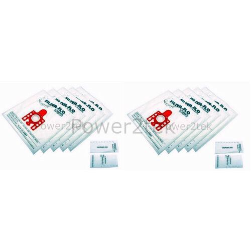 10 x Sacchetti FJM Aspirapolvere per Miele s5000 s5999 s500i UK STOCK