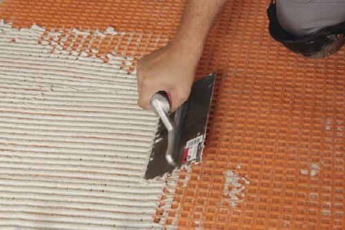 adhésif Truelle Rubi 72907 Square Entaillé Flex Grip Truelle 6 mm x 6 mm