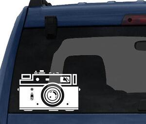 Photography-3-Vintage-Film-Flash-Camera-Silhouette-Car-Tablet-Vinyl-Decal