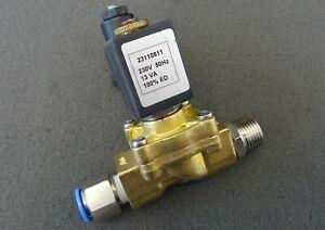 """Magnetventil TIMMER Solenoid Valve 2//2-Wege-Ventil G 3//8/"""" Messing Spule C3 230V"""