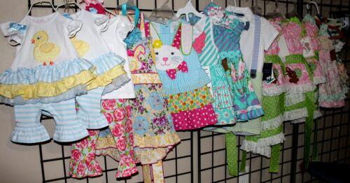 100 trajes de Pascua 250 Piezas Niño Niña Cierre De Tienda Lote al por mayor de primavera Boutique