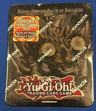 YUGIOH REDOX, DRAGON RULER OF BOULDERS TIN 2013 SEALED KONAMI