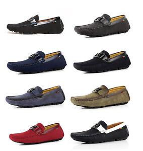 Mens-Slip-On-Casual-Walking-Boat-Deck-Shoes-Smart-Loafers-Driving-Moccasins-NEW
