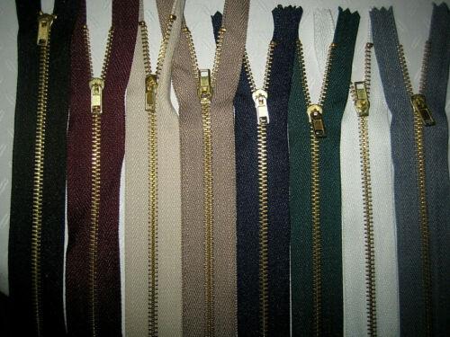 10-85 cm Reißverschluss Metall ab 50cm teilbar für Jacken Mantel und Hosen TOP