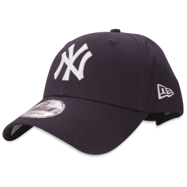 84600f297cf72 NEW ERA MENS 9FORTY BASEBALL CAP.GENUINE NEW YORK YANKEES NAVY ADJUSTABLE  HAT 39