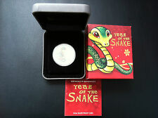 2013 50c Coloured Baby Snake 1/2oz Silver Proof Coin  EXCELLENT CONDITION!!!!