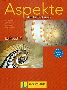 Aspekte-1-B1-Lehrbuch-ohne-DVD-Mittelstufe-Deutsch-Buch-Zustand-gut
