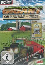 PC DVD-ROM + Landwirtschaft Gigant + Gold Edition 2Pack + Landwirt + Win 8