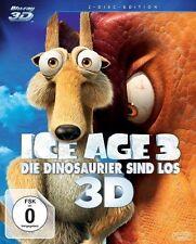 ICE AGE 3: Die Dinosaurier sind los (Blu-ray 3D + Blu-ray Disc) NEU+OVP Schuber