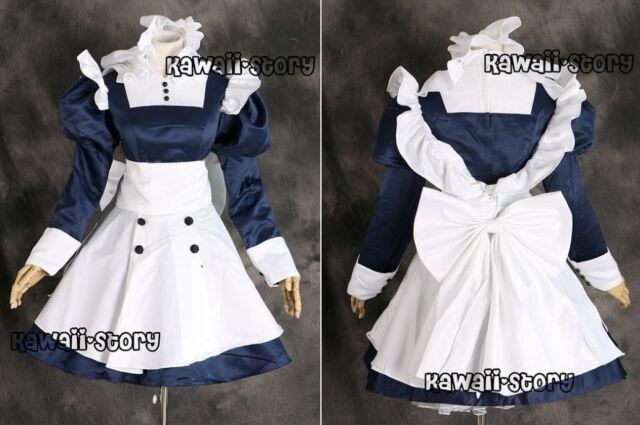 a126 Black Butler Meirin Mey-rin Cosplay Kostüm costume Kleid dress n. Maß