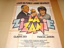 louis de funes LA ZIZANIE !  affiche cinema 1978