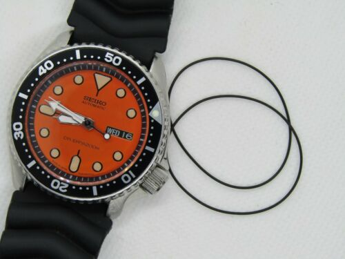 Spare Gasket Included Replaces 0G345BA11 Seiko SKX Bezel Gasket