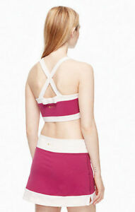 NWT $91 Kate Spade x Beyond Yoga Blocked Frame Sports Bra XS S