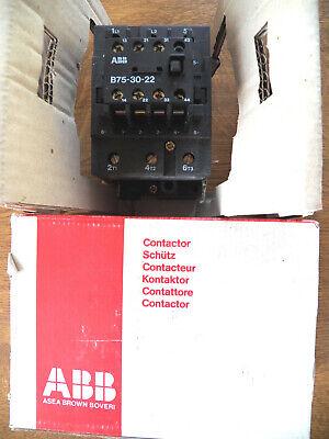 ABB B75-30-22 Schütz Schaltleistung: 37 kW 400 Volt 2 NO 2 NC für 3~