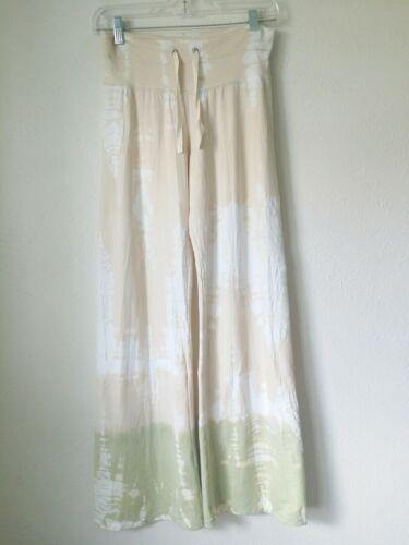 Claire Pettibone Bleu Claire Tie dye CrinklePant … - image 1