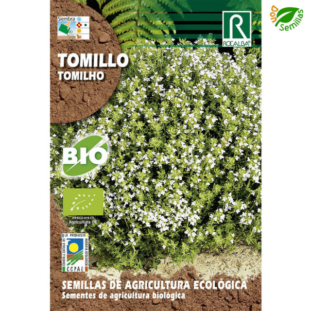Tomillo Ecológico 0,2 g / 1.000 semillas ( Thymus vulgaris ) seeds - Eco