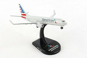 POSTAGE-STAMP-AMERICAN-AIRLINES-737-800-1-300-SCALE-DIECAST-METAL-MODEL