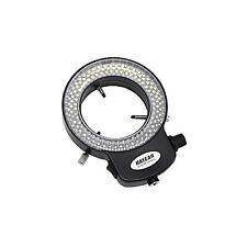 Black 144 Led Bulb Microscope Ring Light Illuminator Adjustable Bright Lamp