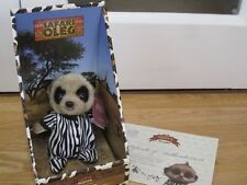 SAFARI OLEG COMPARE THE MARKET MEERKAT SOFT TOY BOXED WITH CERTIFICATE & TAG