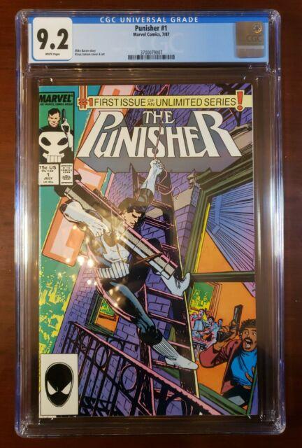 The Punisher #1 CGC 9.2 (Jul 1987, Marvel)