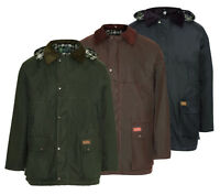 Padded Wax Jacket | 100% Waterproof, Windproof, Country Classic