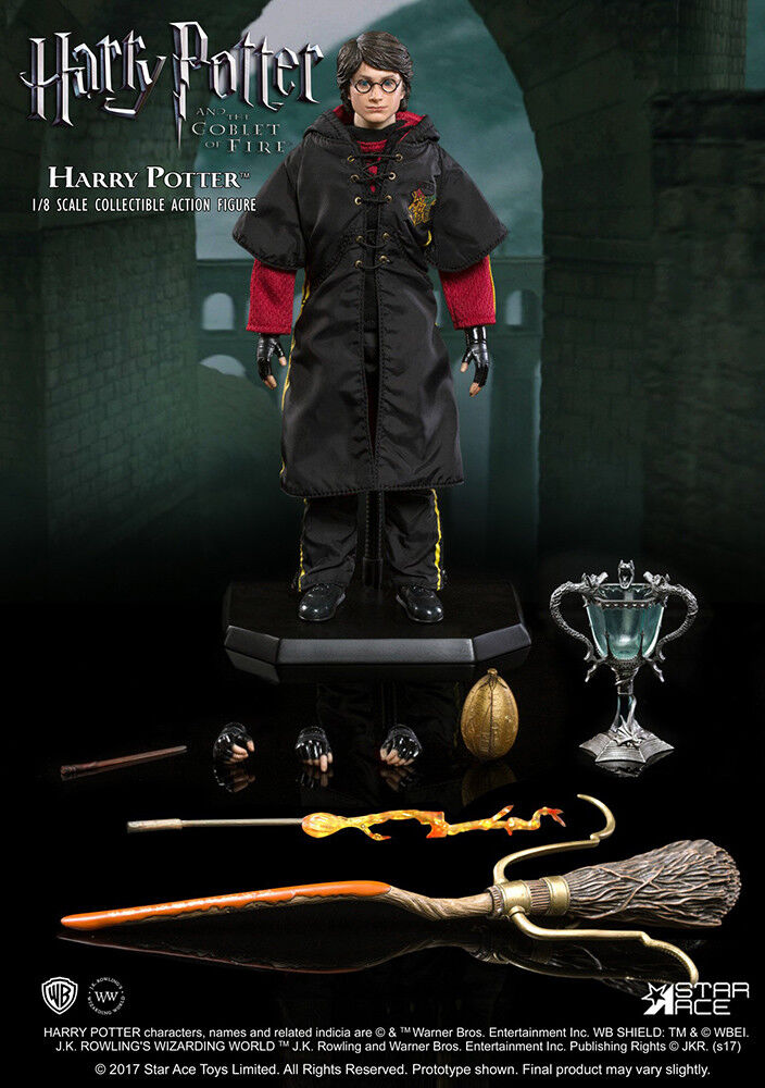 Harry potter lord voldemort  flash effect real master 1 8 scale action figure  contre authentique