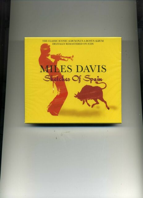 MILES DAVIS - SKETCHES OF SPAIN - 2 CDS - NEW!!