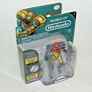 World of Nintendo GRAVITY SUIT SAMUS Figure Series 1-4 Jakks Pacific 2015 SEALED