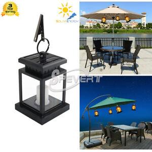 led bougie lumi re solaire chandelle pendre lampe ext rieur jardin cour path ebay. Black Bedroom Furniture Sets. Home Design Ideas