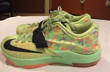 NIKE KD VII 653996 304 EASTER LIQUID LIME Basketball sneaker shoe men size 10