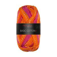 BASIC COTTON COLOR von PRO LANA - Farbe 95 - 50 g / ca. 125 m Wolle