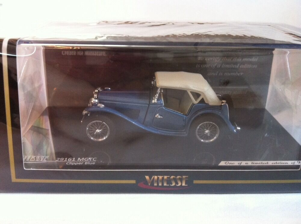 VITESSE - SUNSTAR 1 43 MG TC 29161 Clipper bluee Limited Edition 1 of 928 New