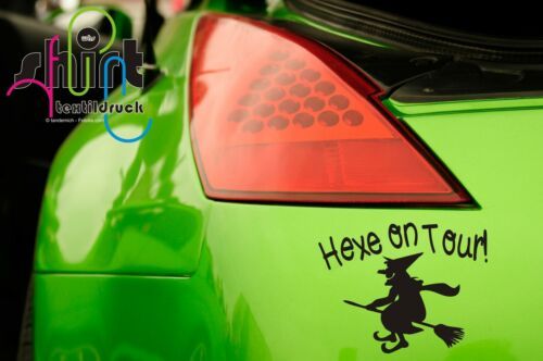 auto pegatinas KFZ sticker auto pegatinas Witch bruja A 497-Bruja on tour