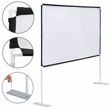 169 Projection Projector Screen Hd Home Theater With Stand 100 Diagonal