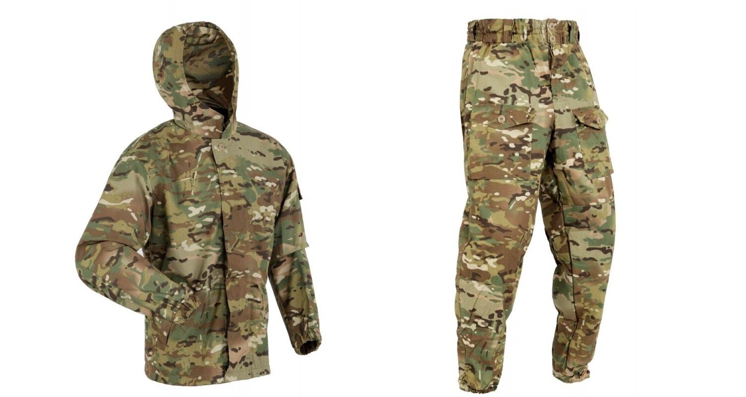 RUSSIAN ARMY ORIGINAL DISGUISE SUMMER SUIT  MOLE  MULTICAM  ALL SIZES  by ANA